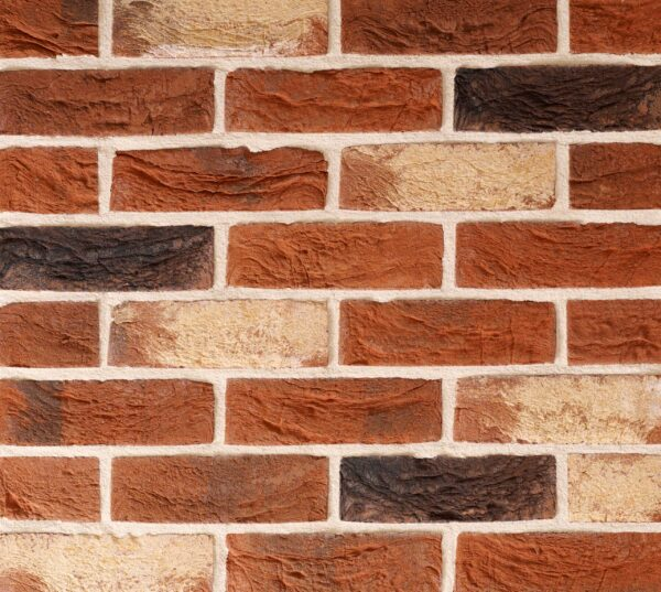Traditional Red Blend Brick Slip Panel