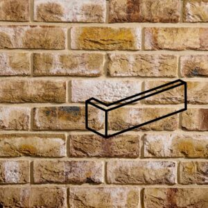 brick slip corner piece london