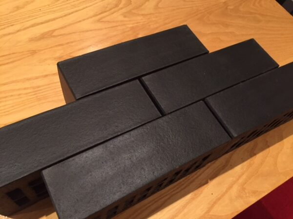 smooth brick slip tile